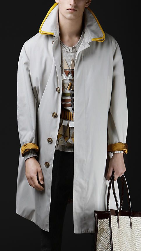 Burberry Oversize Gabardine Car Coat from Spring/Summer 2012: Coat Awesome, Coats Jackets Ponchos, Jackets Coats, Men Coats, Coats Cardigans, Future Coats, Cardigans Sweaters
