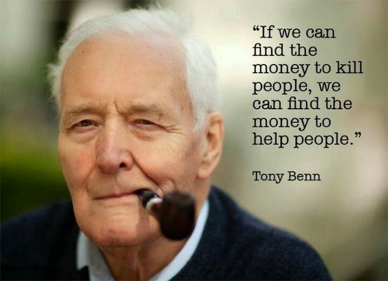 If we can fund wars, the death penalty, etc. Then we can fund humanitarian missions, the Peace Corps, and help feed the poor in our own country!