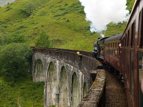 West Highland Line, Scotland, Glasgow to Mallaig or Oban