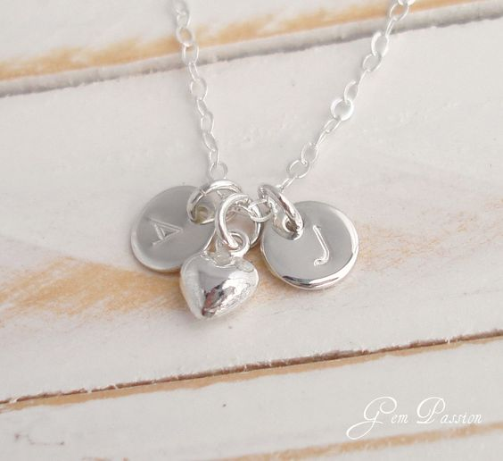 Mothers Day Necklace Tiny Sterling Silver by GemPassionJewelry