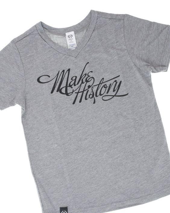 Make History Kids' Graphic T-Shirt