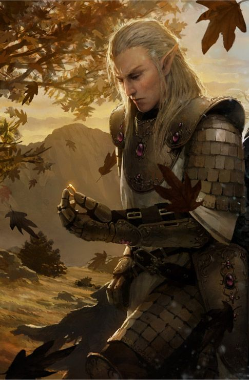 Fire fighter tattoo pinterest - Elf Knight By Marek Okon Part Of Book Cover For Prequel To Quot Sons Of