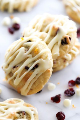 Cranberry Orange Cookies | Chef in Training | Bloglovin':