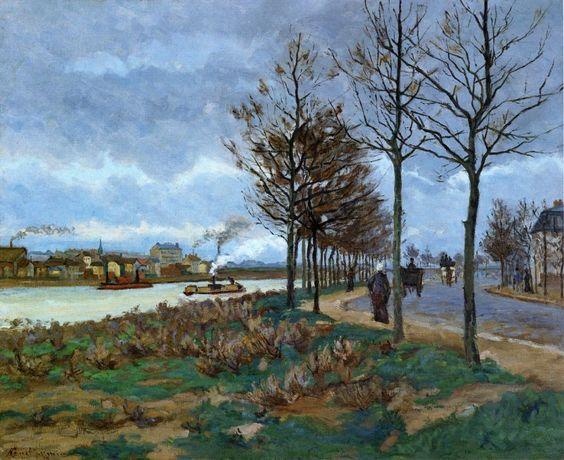 Armand Guillaumin (1841 - 1927) The Seine, 1873