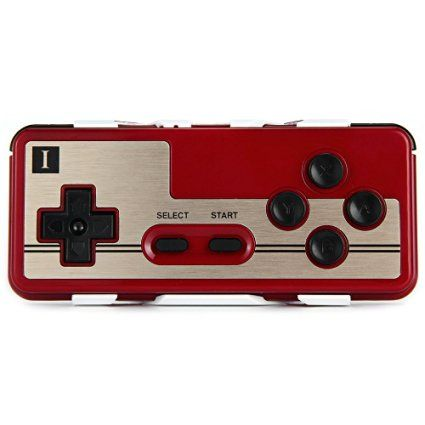 8Bitdo FC30 Wireless Bluetooth Gamepad Game Controller for iOS Android PC Mac…