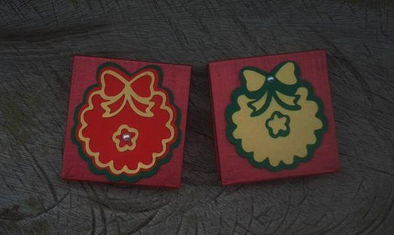 Este bloquinho personalizado é uma ótima sugestão para lembrancinha de Natal. É um presente fofo e útil!    www.amornopapel.com.br