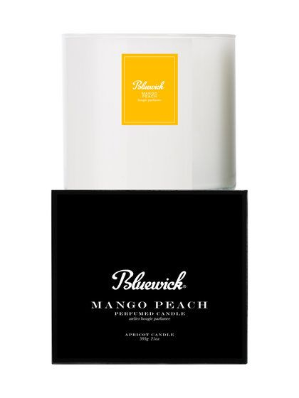 Core Mango Peach Tumbler Candle (21 OZ) by Bluewick Home Fragrance at Gilt