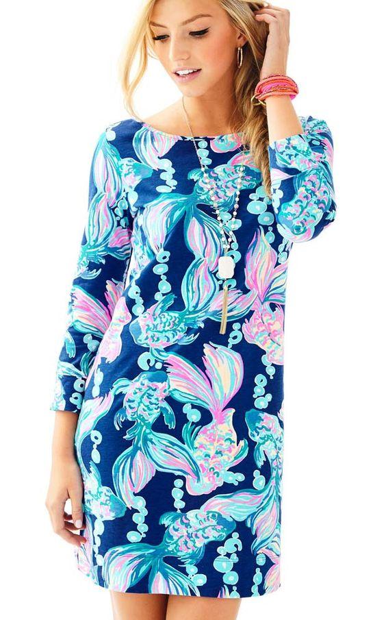 MARLOWE DRESS TRUE BLUE GOING COASTAL