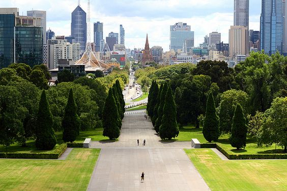 Melbourne Remembrance Shrine by tim phillips photos, via Flickr