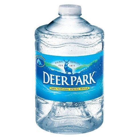 Deer Park Brand 100 Natural Spring Water 101 4 Fl Oz Jug Natural Spring Water Spring Water Spring Nature