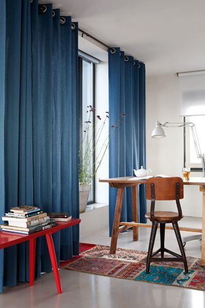 Groen combineert ook goed met blauw | Via villa d\'Esta - Interieur ...