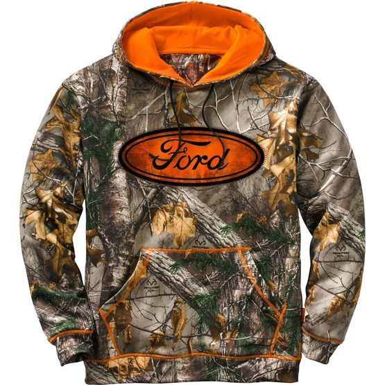 Men's Realtree Ford Trucks Camo Mudder Hoodie at Legendary Whitetails
