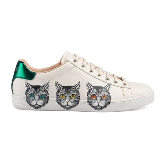 Rhyton sneaker with Gucci Strawberry