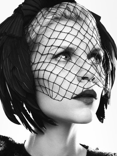Mark Abrahams shoots Claire Danes for Harper's Bazaar Russia June 2012