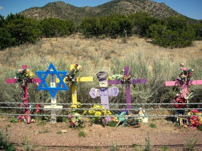 Descanso in New Mexico (this is a tragic spot where 5 teenagers were killed by a drunk driver):