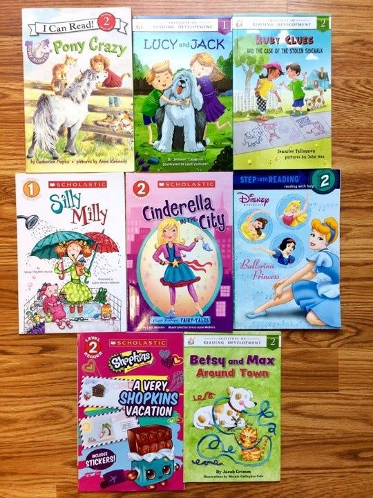 8 Paperback Learn To Read I Can Read Books For Early Readers