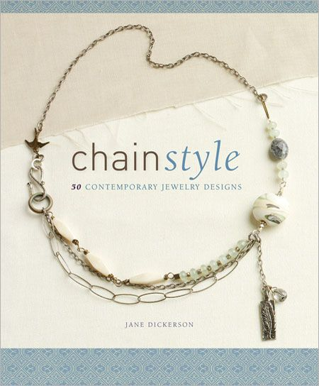 Chain Style: 50 Contemporary Jewelry Designs - 30% proceeds go to National Breast Cancer Foundation through Oct. 5, 2012 #GoPink
