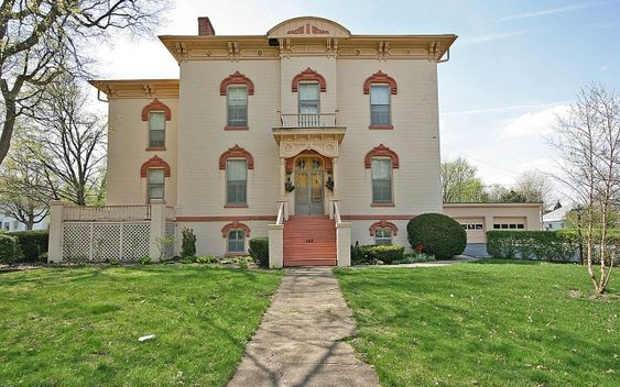 1873 Italianate Paxton Il Old House Dreams Beautiful Bedrooms Great View