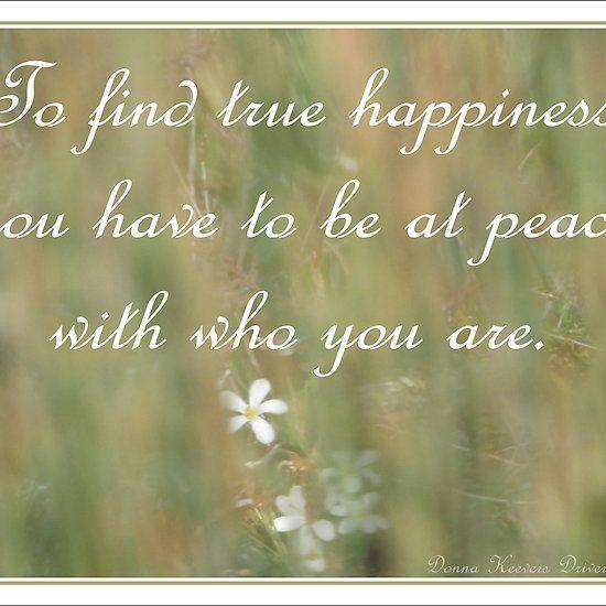 ~ True Happiness ~