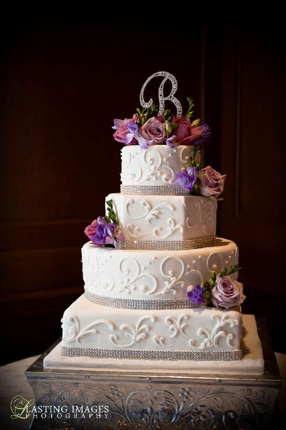rectangle shaped wedding cake four tier square and hexagon shaped cake with 19054