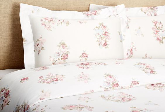 Sleep Softly Vintage-Style Duvet, Rose  $259.00 - $299.00