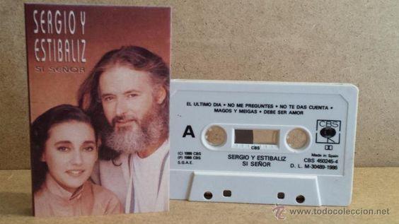 SERGIO Y ESTÍBALIZ. SI SEÑOR. MC / CBS - 1986 / CALIDAD LUJO.