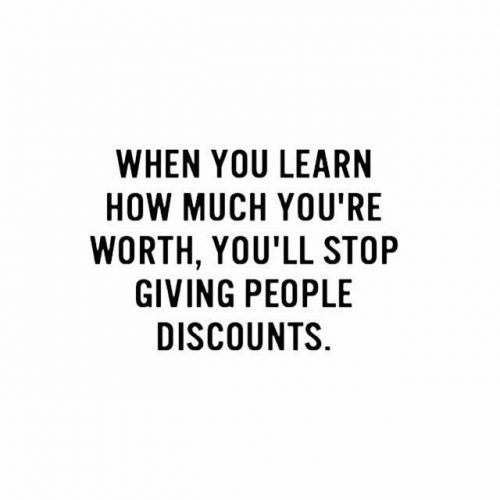 Know Your Self-Worth Quotes