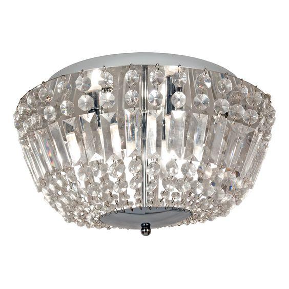 Taklampa taklampa plafond : TAKLAMPA/PLAFOND ANETA GIOVANNA KROM/KLAR 3X33W G9 IP44 - Plafond ...