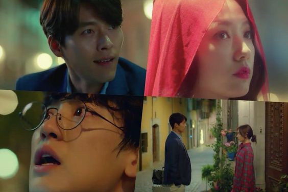 "Watch: Hyun Bin, Park Shin Hye, And EXO's Chanyeol Experience Strange And Magical Events In ""Memories Of The Alhambra"" Teasers"