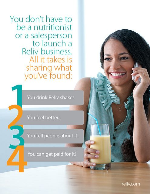 reliv 4 steps independent distributor