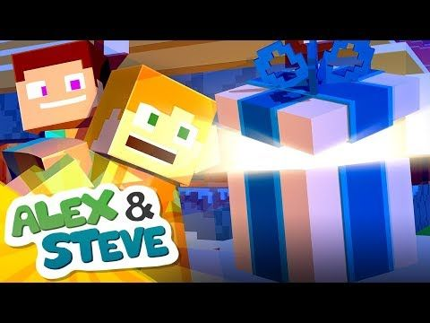 Christmas Minecraft Surprise The Minecraft Life Of Alex Steve
