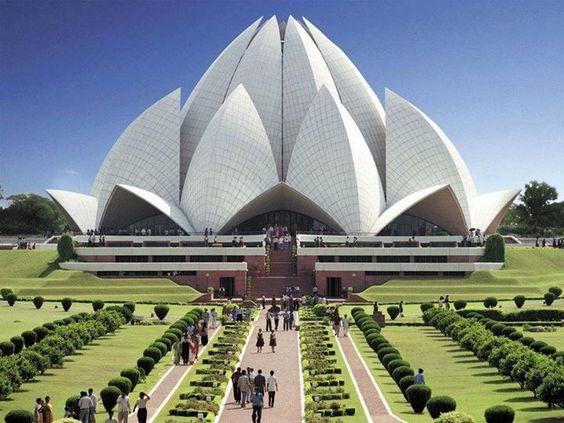 Lotus Temple , New Delhi.