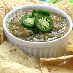 Pittige groene salsa @ allrecipes.nl