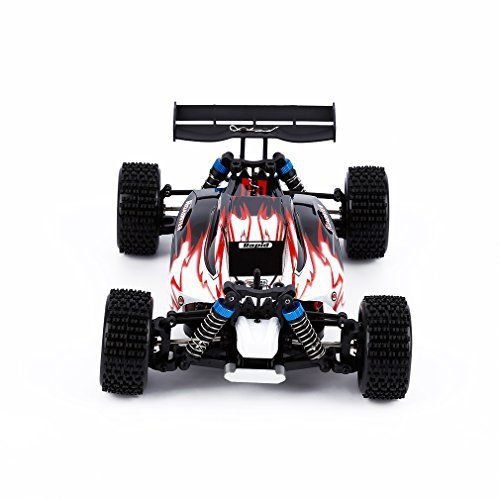 WLtoys A959 2.4G 1:18 4WD High #Speed #RC Car Off-Road #Vehicle (Red)  Full review at: http://toptenmusthave.com/best-rc-cars/