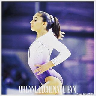 Instagram photo by Compte Oreane Lechenault Fan (@oreane.lechenaultfan) 04/08/2016 #villageolympique #oreaneaujo #gymnastique…