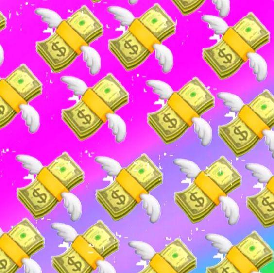 Money Baby on We Heart It   Money   Pinterest   Heart ...