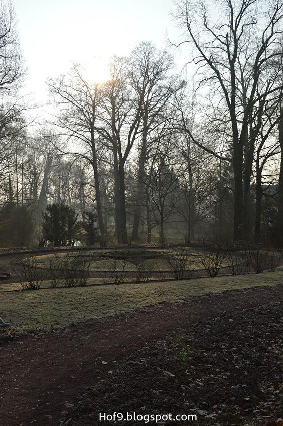 Morgens im Schlosspark