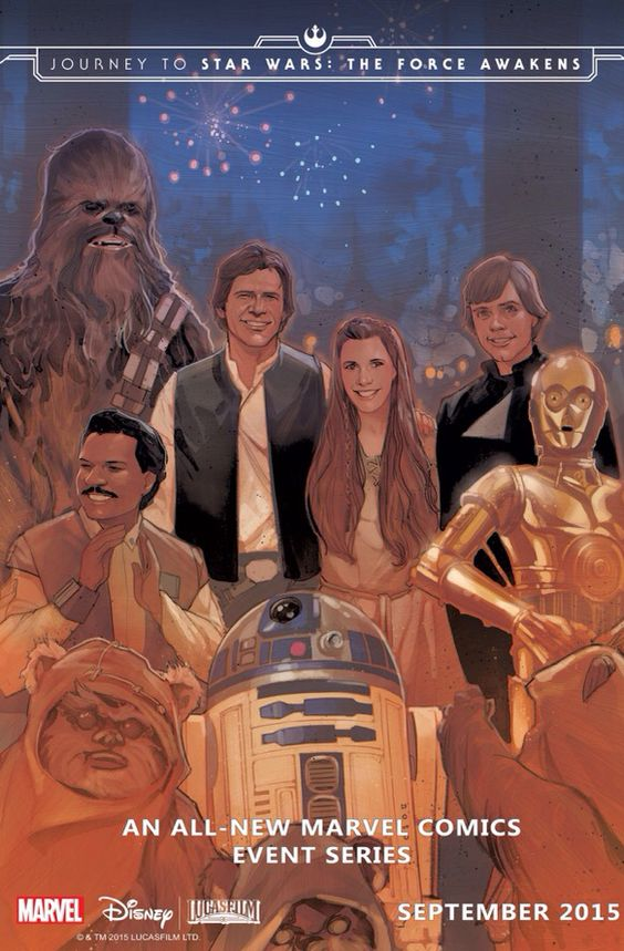 StarWars.com proudly presents the debut image from Marvel's first entry in Journey to Star Wars: The Force Awakens: the cover to Shattered Empire #1.