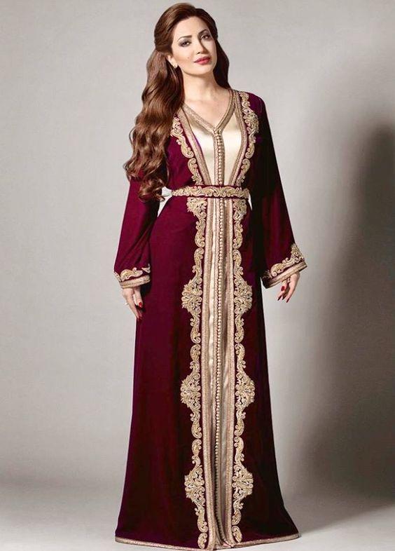 Pin By Nawel Cirine On Kaftan Moroccan Dress Moroccan Fashion Fashion