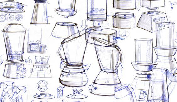 Sketches by R.D. Silva, via Behance