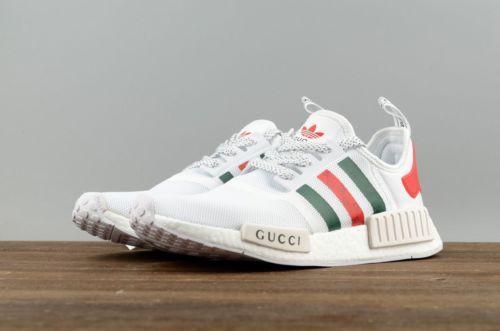gucci x adidas nmd white- OFF 55% - www
