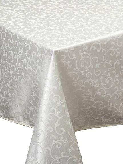 opal innocence tablecloth from lenox, $27-43
