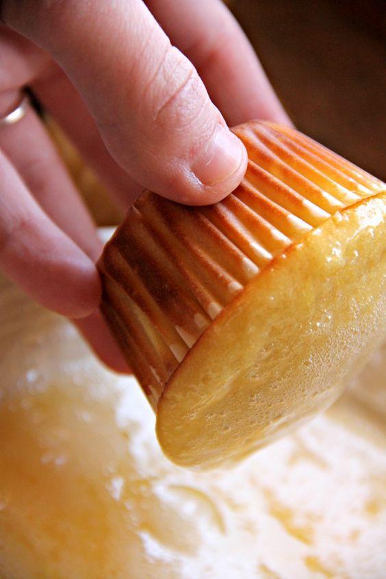 My Happy Place...: Orange Muffins with Fresh Orange Glaze