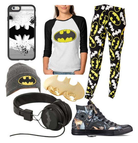 """Batman!!!"" by fashion-master-4u on Polyvore featuring Casetify, Bioworld, Noir and Converse"