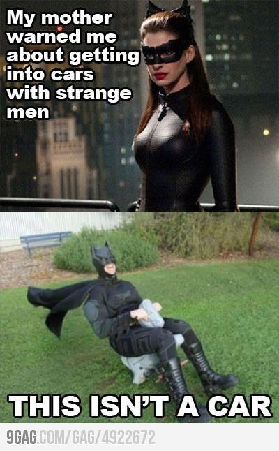 Batman - This isn't a car