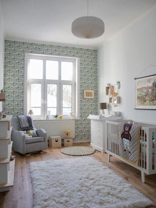 Antes despues dormitorio bebe estilo nordico como decorar - Dormitorios estilo nordico ...