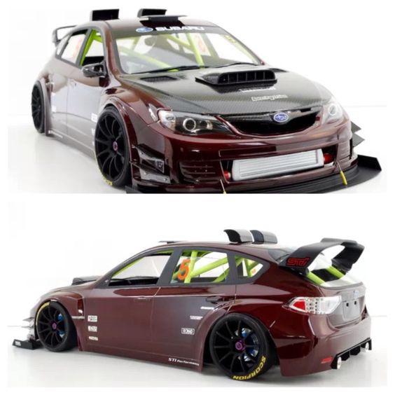 RC Drift Car • Subaru Impreza STi Body