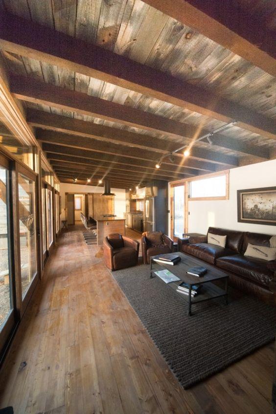 Park Model Modular Cabin Barnwood Ceiling Www