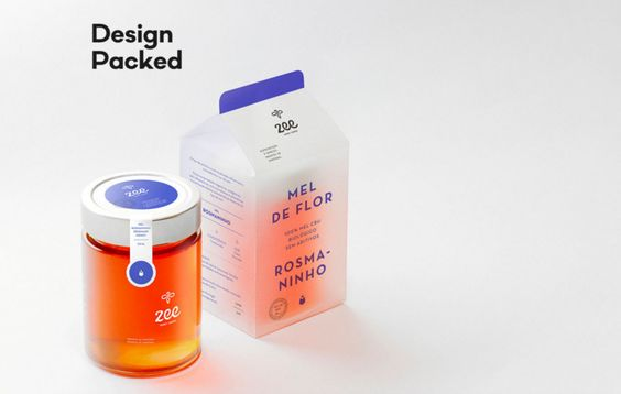 Zee - Honey Goods — The Dieline - Branding & Packaging