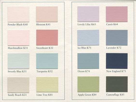 Farbpalette Wandfarbe Pastell : Painting the Past Wandfarben und Möbelfarben auch bei uns im Store in